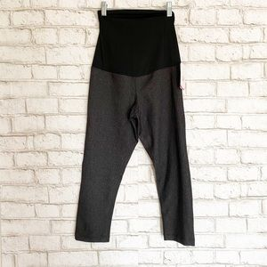 NWT Isabel Maternity Crossover Panel Leggings